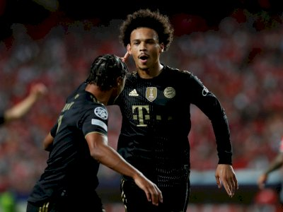 Liga Champions: Bayern Munchen Bantai Benfica 4-0, Berikut Foto-fotonya