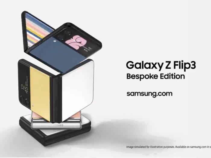 Samsung Galaxy Z Flip3 Bespoke Edition Hadirkan 49 Kombinasi Warna Baru!