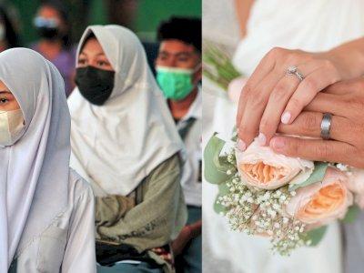 Hampir 2 Tahun Belajar Online karena Covid-19, 300 Pelajar di Kalteng Diam-diam Menikah