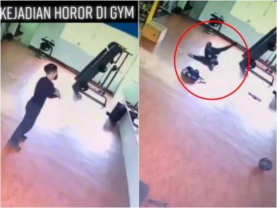 Viral Pria Diteror Makhluk Halus di Ruang Gym hingga Kaki Ditarik Paksa, Endingnya Begini!
