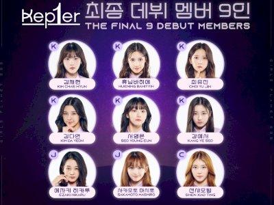 Final Girls Planet 999 Berakhir, Inilah 9 Finalis yang Siap Debut dengan Nama Kep1er