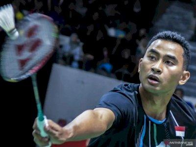 Jojo Cedera Pinggang, Tunggal Putra Indonesia di Denmark Open Tinggal Tommy
