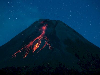 Gunung Merapi Luncurkan 60 Kali Guguran Lava dalam Sepekan Terakhir, Warga Diminta Waspada