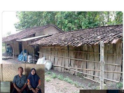Pilu Guru Honorer di Ngawi Tinggal Satu Rumah dengan Kambing, Bergaji Rp300 Ribu Per Bulan
