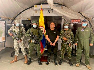 Pengedar Narkoba Paling Dicari di Kolombia Berhasil Ditangkap Polisi