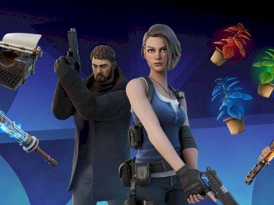 Fortnite Hadirkan Chris Redfield dan Jill Valentine dari Seri Game Resident Evil