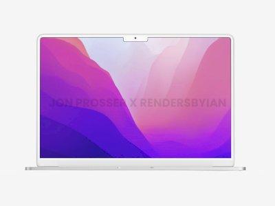 Seperti Ini Konsep MacBook Air Terbaru yang Hadirkan Notch Seperti MacBook Pro