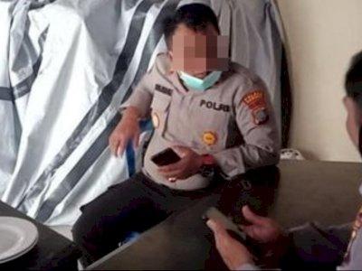 Dipecat Usai Diduga Menodai Anak Tahanan, Begini Penampilan Kapolsek Parigi saat Bertugas