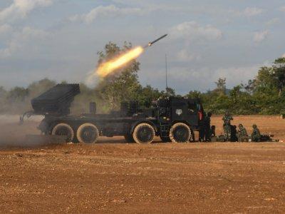 Latihan Pendaratan Operasi Amfibi TNI AL, Berikut Foto-fotonya