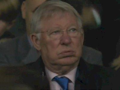 Sir Alex Ferguson Geleng-geleng Kepala Lihat Manchester United Dihancurkan Liverpool 0-5