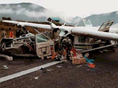 Pesawat Kargo Alami Kecelakaan di Papua, Pilot Dinyatakan Meninggal