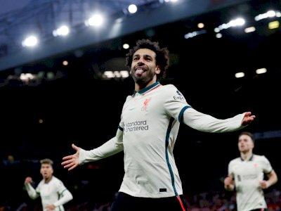 Salah Cetak Hattrick, Liverpool Kalahkan MU 5-0 di Old Trafford