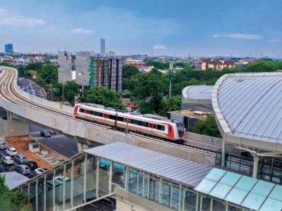 Tak Ada Korban Jiwa Akibat Tabrakan LRT di Jakarta Timur