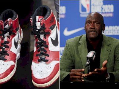 Fantastis! Sepatu Milik Michael Jordan ini Laku Terjual Rp20,8 Miliar