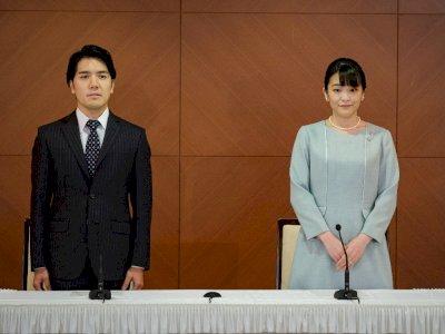 Penuh Drama, Putri Mako Akhirnya Resmi Menikah dengan Kei Komuro
