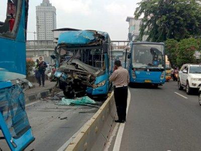 Korban Kecelakaan TransJakarta Ungkap Detik-detik Kejadian, Sopir Telat Ngerem