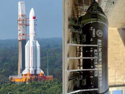 Dorong Eksplorasi ke Luar Angkasa, China Mulai Uji Coba Roket Futuristik Raksasa
