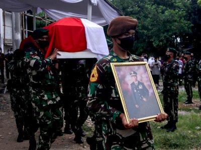 Upacara Pelepasan Jenazah Almarhum Sudi Silalahi, Ini Foto-fotonya