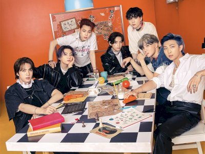 Single 'Butter' Antarkan BTS Masuk Nominasi '2022 Grammy Award'