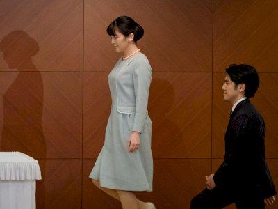 Nikahi Rakyat Jelata, Lika Liku Putri Mako Resmi Tanggalkan Kemewahan & Gelar Kerajaan