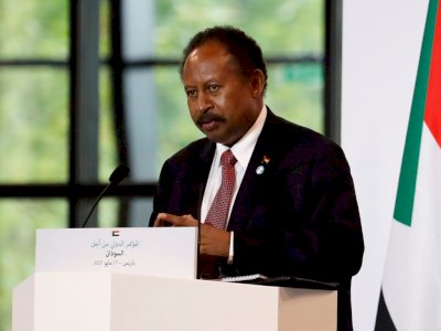 Sempat Ditahan, Perdana Menteri Sudan dan Istrinya Diizinkan Pulang Militer