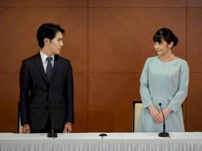 Nikahi Putri Mako, Kei Komuro: Hidup Cuma Sekali, Saya Ingin Bersama Orang yang Kucintai