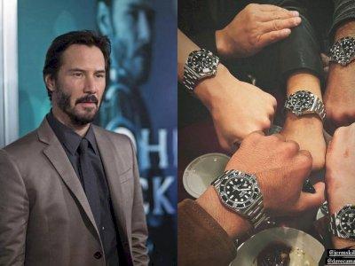 Penampakan Jam Tangan Rolex Submariner yang Diberi Keanu Reeves ke Tim Stuntman John Wick