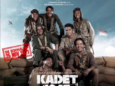 """Bertepatan dengan Sumpah Pemuda, Film """"Kadet 1947"""" Rilis Poster Resmi Jelang Tayang"""