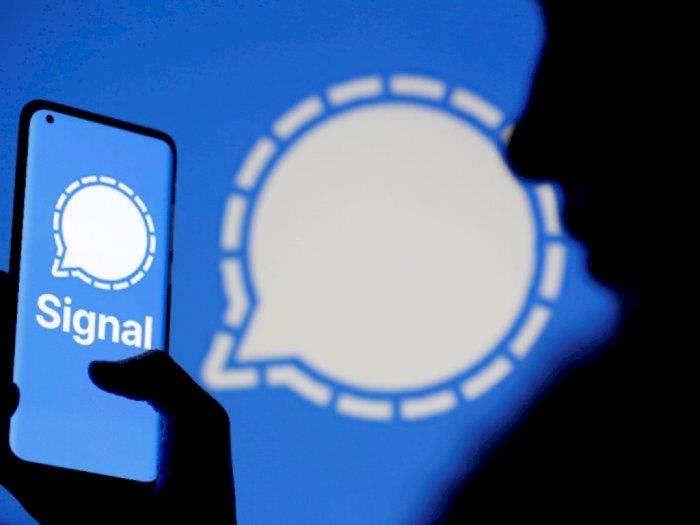 Aplikasi Signal Sempat Hilang di Playstore, Begini Penjelasan Korlantas Polri