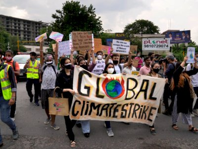 Jelang KTT COP26, India Tolak Target Emisi Nol Karbon Bersih