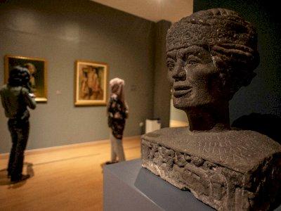 Galeri Nasional Kembali Dibuka, Berikut Foto-fotonya