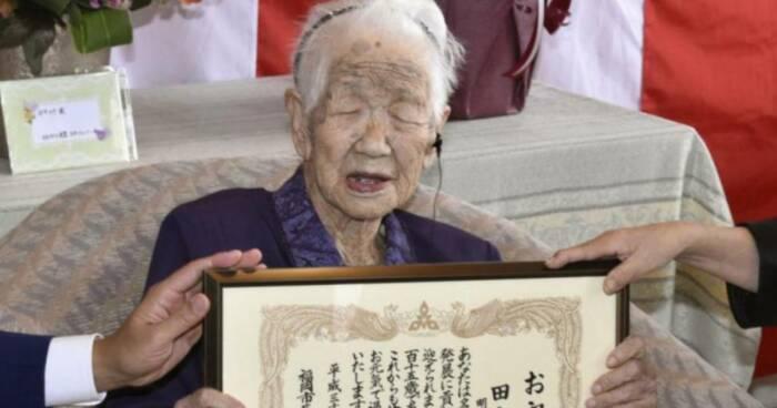 Kane Tanaka disertifikasi sebagai manusia tertua di ulang tahunya yang ke-118
