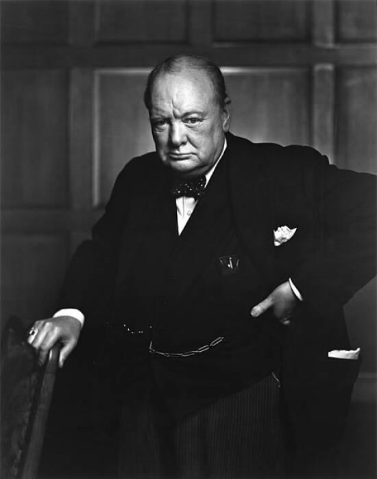 Sir Winston Churchill.