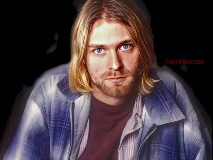 Mendiang Kurt Cobain semasa hidupnya. (Instagram/@nirvanarawr).