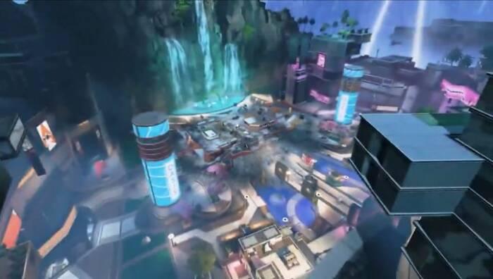 Tampilan lokasi Kings Canyon terbaru di game Apex Legends