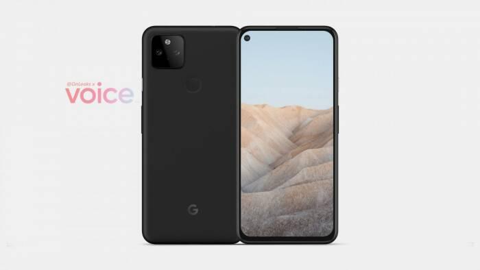 Bocoran tampilan smartphone Google Pixel 5a 5G