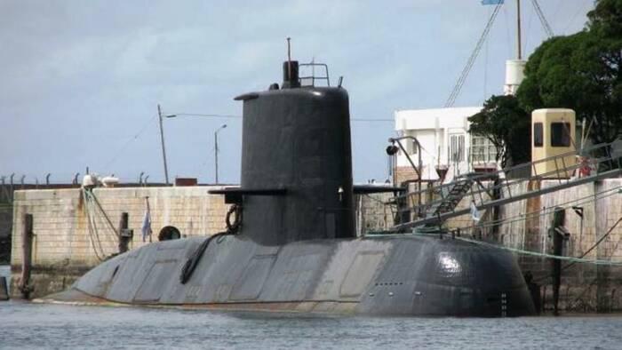 Kapal Selam San Juan milik Argentina. (Wikimedia Commons)