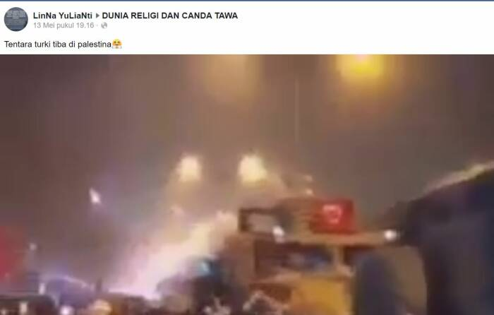 tentara turki di palestina