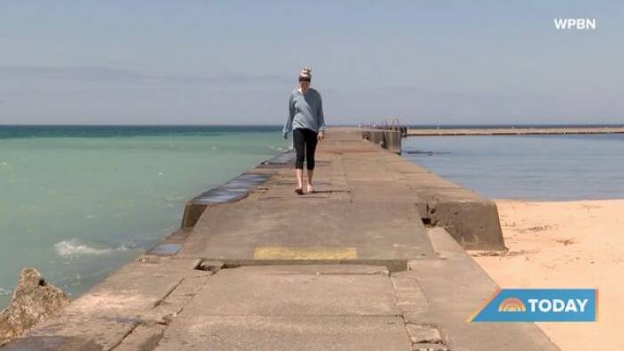 Wanita hamil yang berhasil selamatkan 4 gadis yang tenggelam di danau