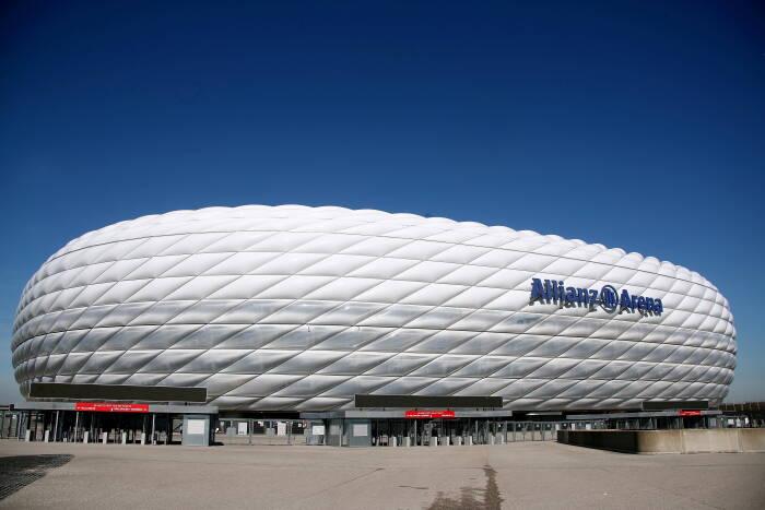 Stadion Allianz Arena, Munich, Jerman