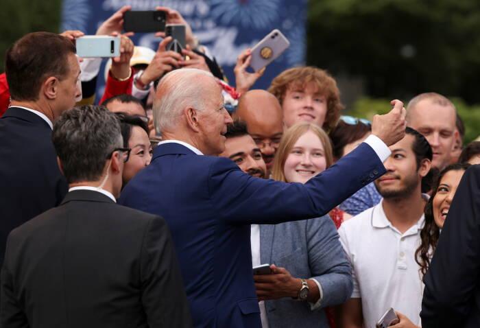 Joe Biden merayakan Hari Kemerdekaan Amerika Serikat
