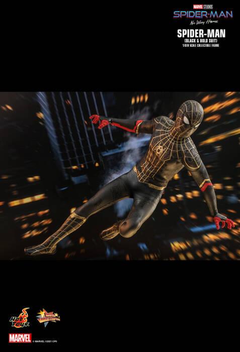 Kostum baru Spider-Man (Hot Toys)