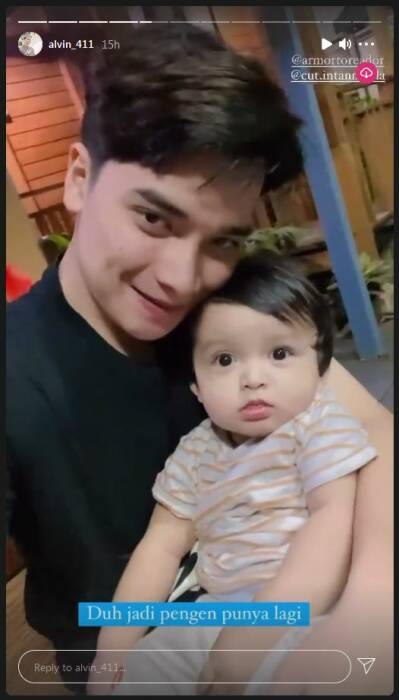 Alvin Faiz ingin punya anak lagi