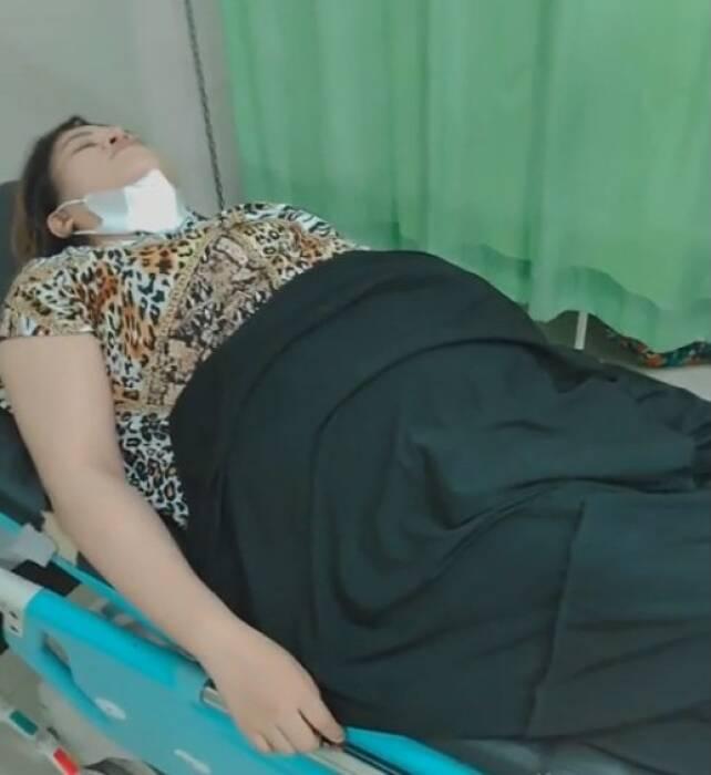 Amriyana mengaku hamil diduga berbohong. (Facebook)