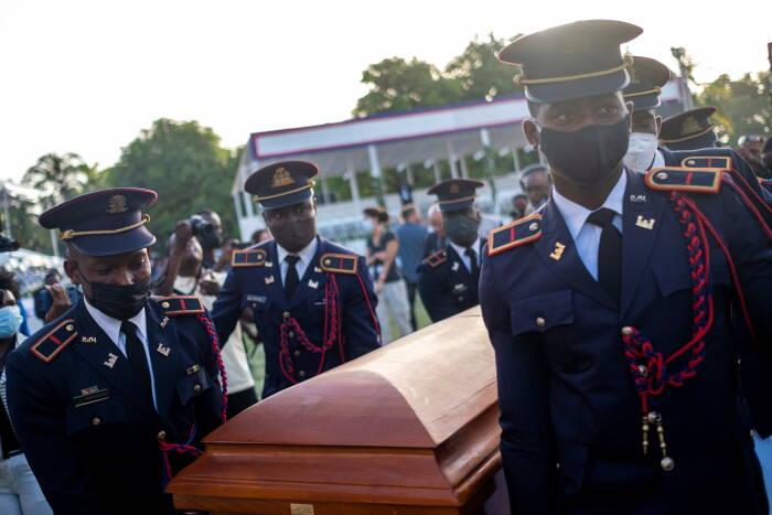 Haiti mengadakan pemakaman untuk Presiden Jovenel Moise yang terbunuh di Cap-Haitien