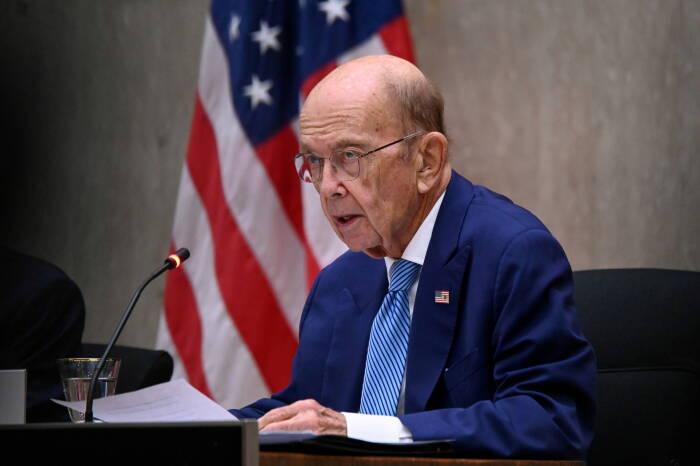 mantan Menteri Perdagangan AS, Wilbur Ross.