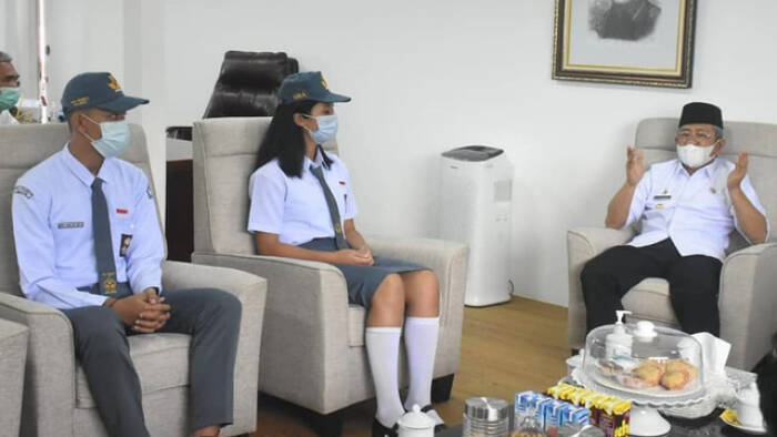 Arya dan Christina sempat bertemu Gubernur Sulbar sebelum positif Covid-19