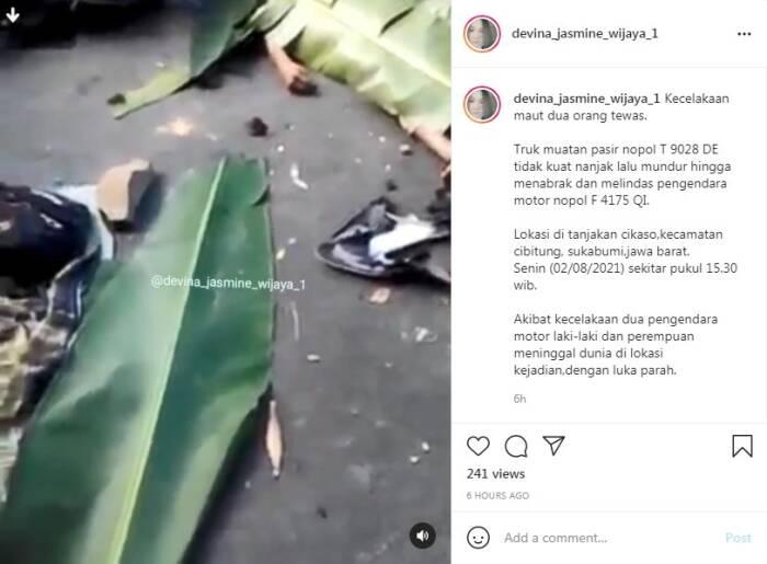 Kecelakaan maut di Sukabumi