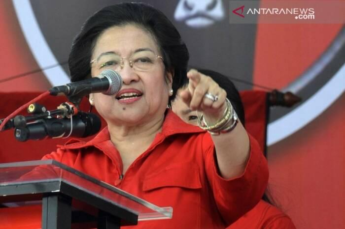 Ketua Umum PDIP Megawati Soekarnoputri (Antara foto)